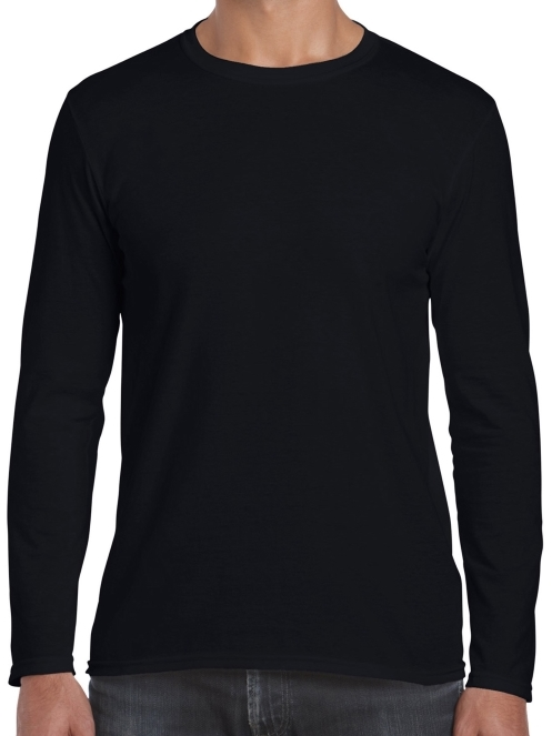 2X Black Long Sleeve Shirt