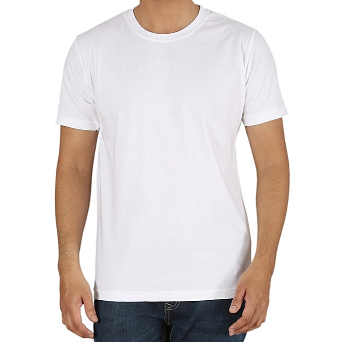 2X White Short Sleeve Shirt