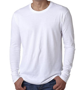 3X White Long Sleeve Shirt