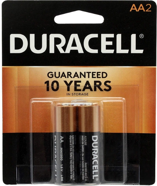USA Duracell AA-2