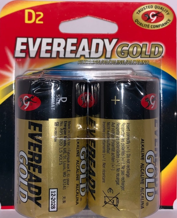 Eveready Gold D-2