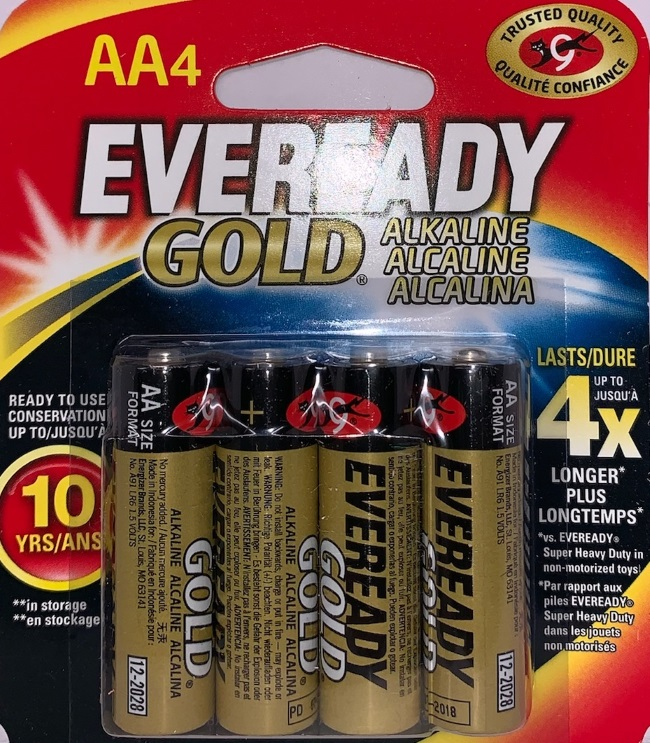 Eveready Gold AA-4