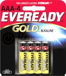 Eveready Gold AAA-4