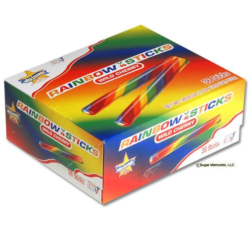 Rainbow Sticks Wild Cherry