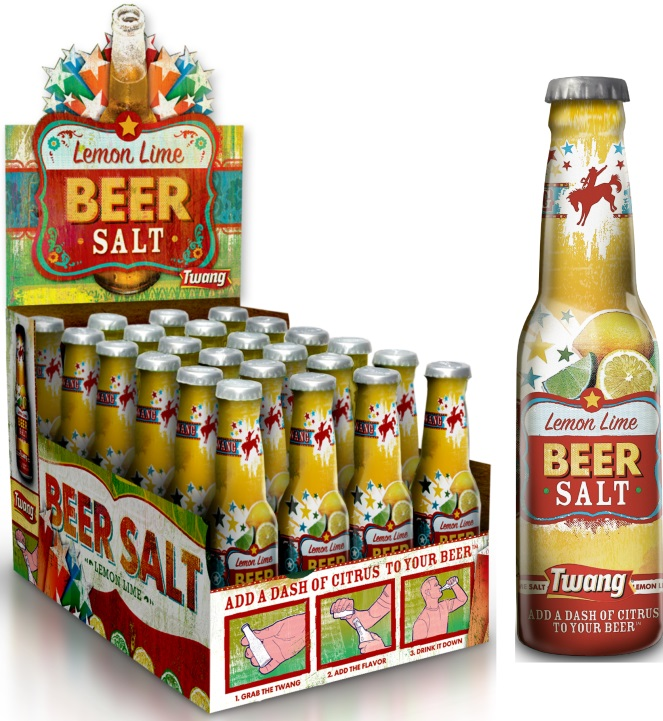 Lemon TW Beer Salt 1.4oz L.N. Shaker