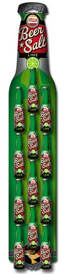 Lime TW Beer Salt 1.4oz Btl Clip Strip