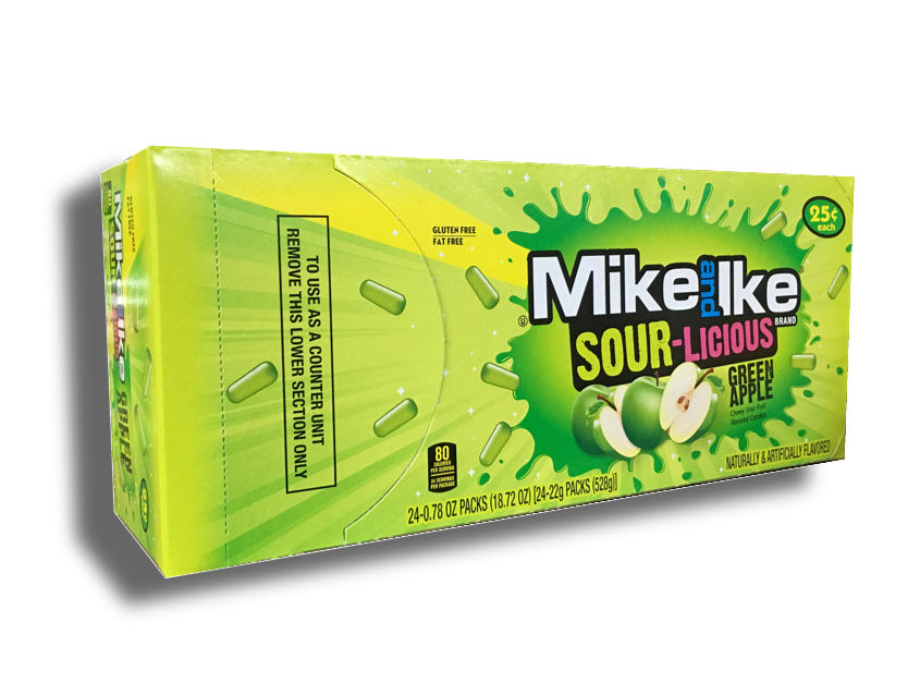 #49109 SOUR Green Apple Mike & Ike