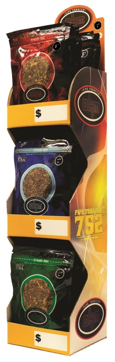 6oz OHM Pipe Tobacco 3 Display
