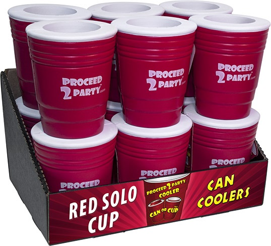 Red Solo Cup Can Coozie
