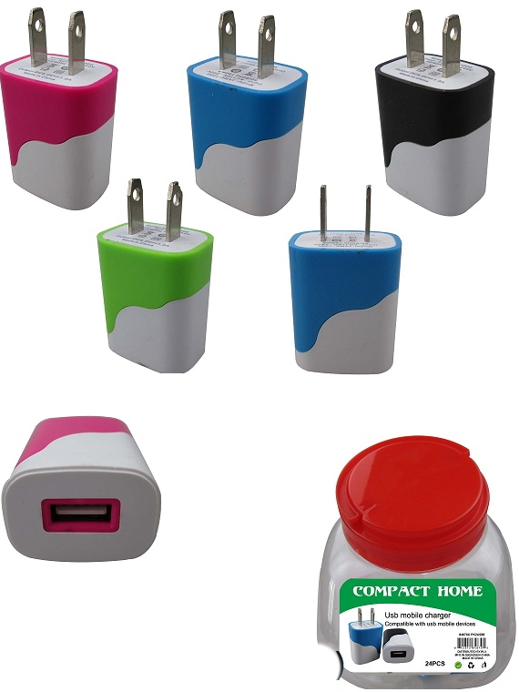Rapid Wall Charger Tub w/ UPC