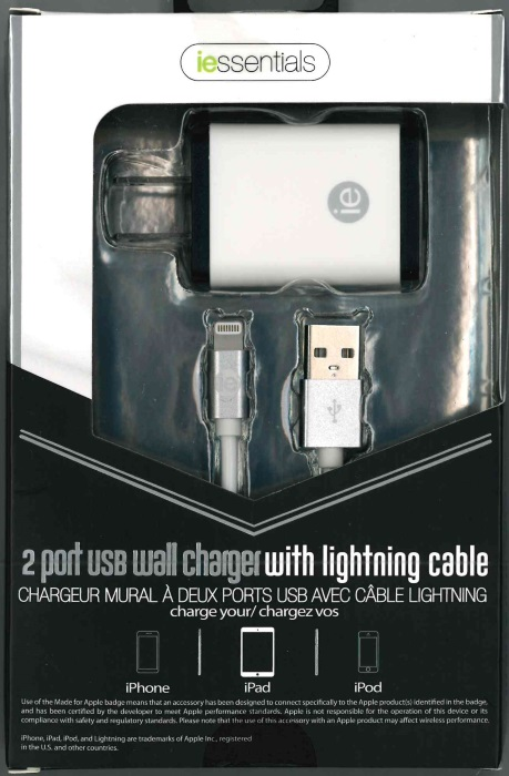 iPhone 2-Port Wall Charger