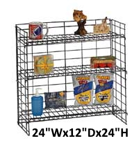 #3007 3-Shelf Counter Display..^N/C... Remains Property of Rainbow Sales