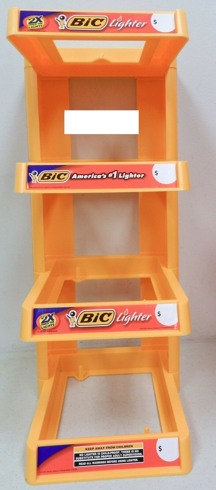Empty Bic 4-Tier Display