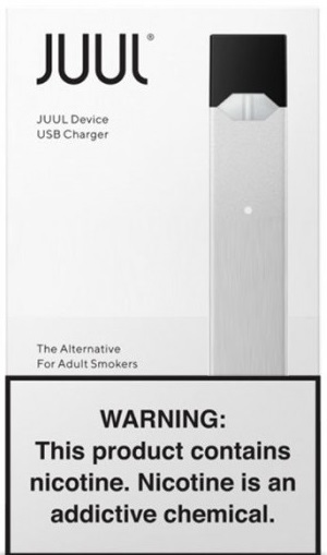 Juul Silver Basic Starter Kit