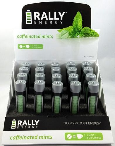 Rally Caffeinated  Mints