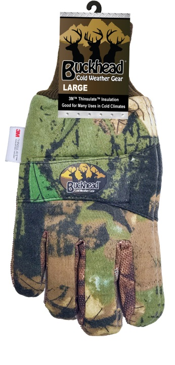 3M Thinsulate Camo Cold Weather