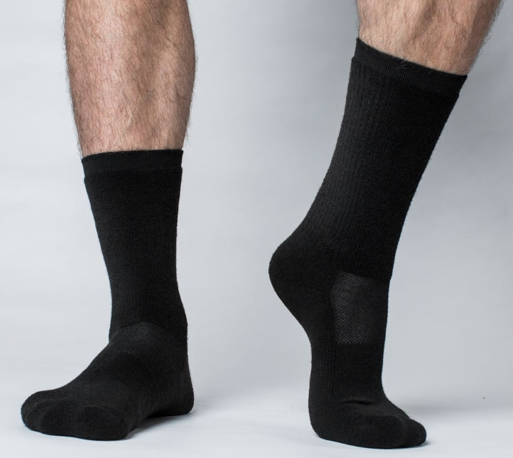 Black Crew Socks (12 pair)