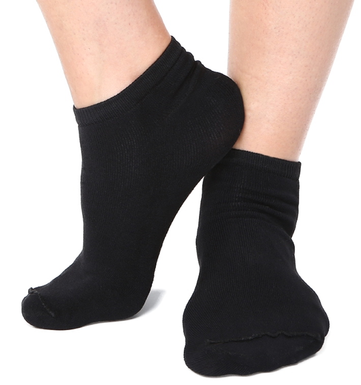 Black Ankle Socks 9-11 (12 pair)