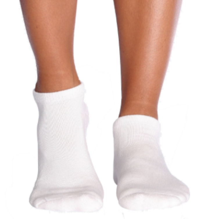 White Ankle Socks 10-13 (12 pair)
