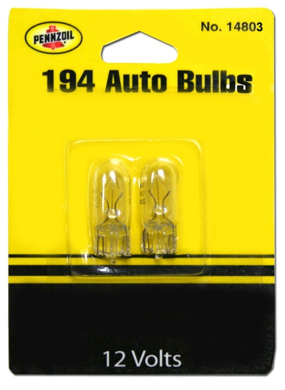 194 License Plate Bulbs BP