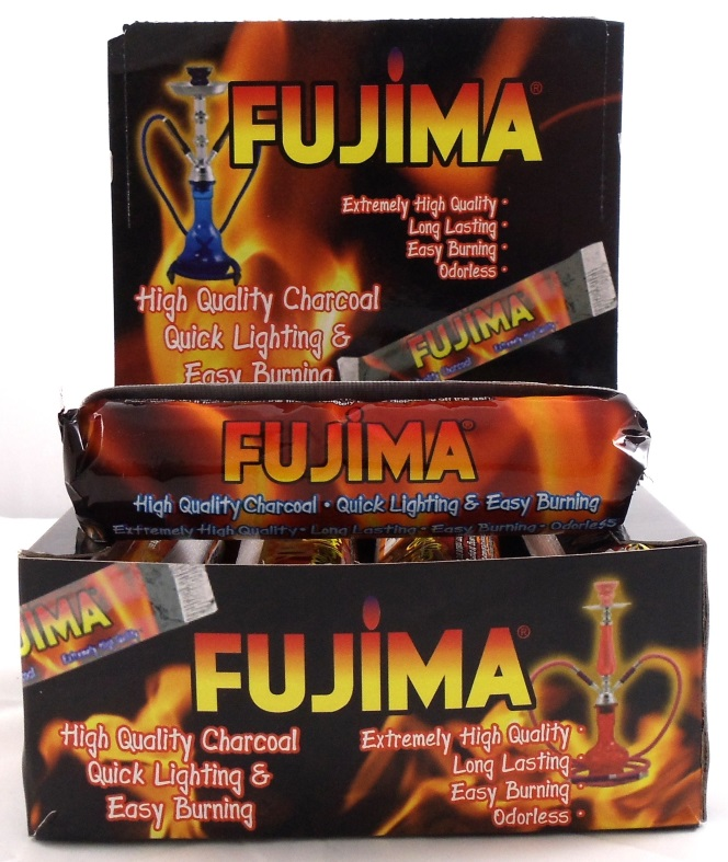 Fujima 10pk Charcoal for Hookahs
