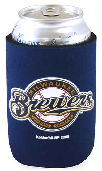 Milwaukee Brewer Can Cooler