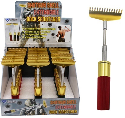 Shotgun Shell Back Scratcher