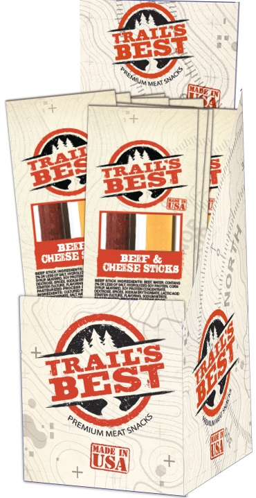 Trail's Best 1.2oz Beef & Cheese