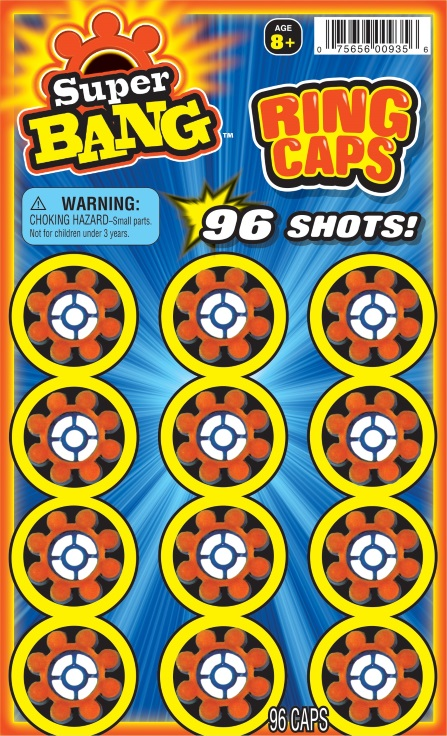 Super Bang Ring Caps 96pc