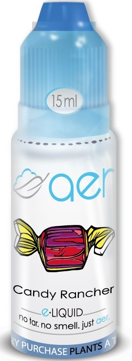 AER 15ml Candy Rancher ejuice 0mg (White)