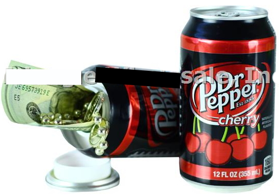 Cherry Dr. Pepper Safe Can