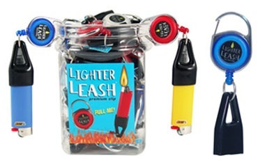 Colorful Lighter Leash w/ Clip