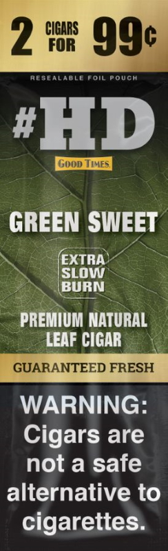 Good Times Green Sweet #HD Natural Leaf Cigar