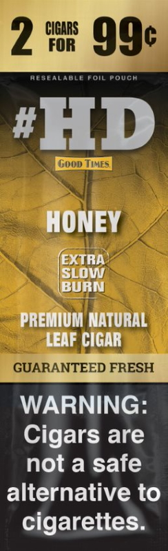 Good Times Honey #HD Natural Leaf Cigar