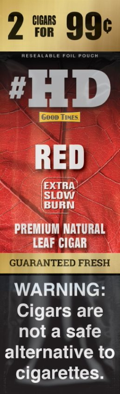 Good Times Red #HD Natural Leaf Cigar