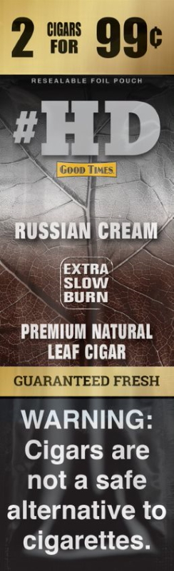 Good Times Russian Cream #HD Natural Leaf Cigar