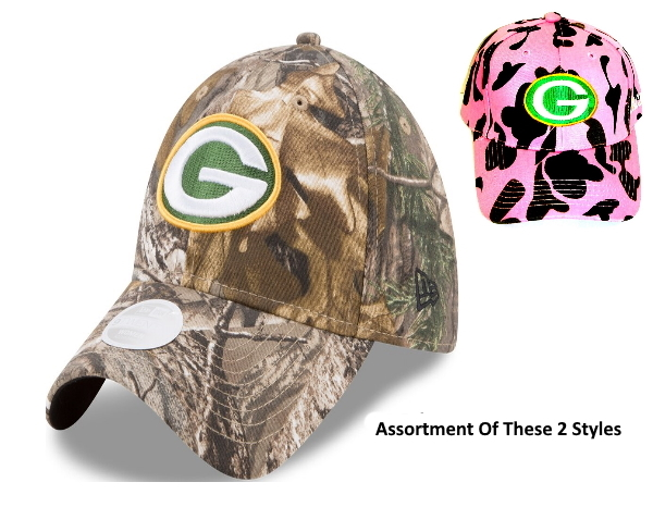Green Bay Packer Camo Cap