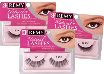 Remy Natural Assorted Eye Lashes