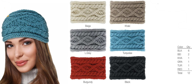 Fashion Knit Headband