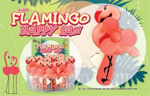 Flamingo Fan
