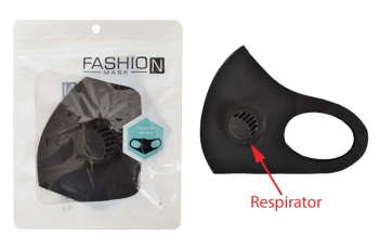 Black Respiratory Masks