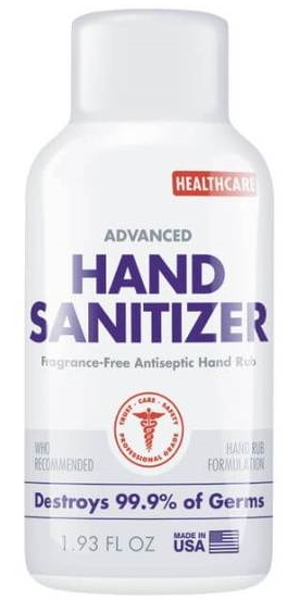 1.93oz Liq Hand Sanitizer